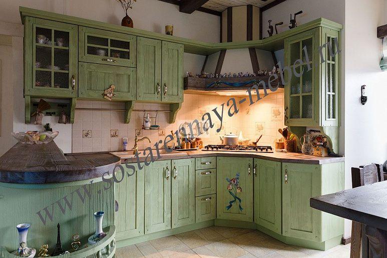 кухня в стиле прованс купить в краснодаре с доставкой и установкой
